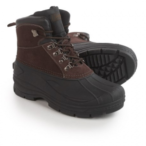 Image of Coleman Glacier Thinsulate(R) Lace-Up Duck Boots - Waterproof, Insulated (For Men)