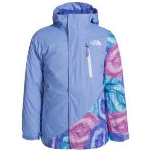 Image of The North Face Abbey Triclimate(R) 3-in-1 Jacket - Waterproof, Insulated (For Little and Big Girls)