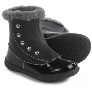 Image of See Kai Run Amelia Boots - Patent Leather (For Toddlers and Little Girls)