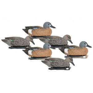 Image of Hardcore Pro-Series Bluewing Teal Decoys - 6-Pack