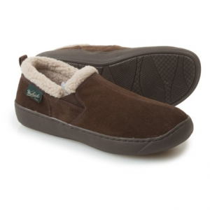 Image of Woolrich Buck Run Slippers - Suede, Fleece Lined (For Men)