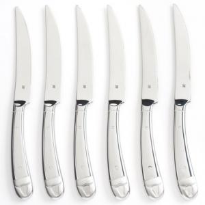 Image of WMF Bullhead Steak Knife Set - Stainless Steel, Set of 6