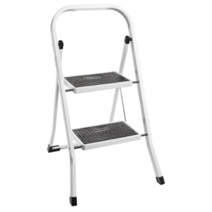 Image of Samsonite 2-Tier Step Ladder - Anti-Skid Steps