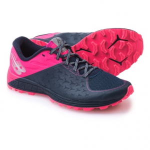 new balance vazee summit trail v2 trail running shoes (for women)- Save 49% Off - CLOSEOUTS . New Balanceand#39;s Vazee Summit Trail V2 trail running shoes feature a highly breathable, streamlined design suitable for technical surfaces and race day. The update has an even softer no-sew upper with bootie construction and a Hydrohesion sticky rubber outsole . Available Colors: DARK DENIM, DARK DENIM/ALPHA PINK/METALLIC SILVER. Sizes: 5, 5.5, 6, 6.5, 7, 7.5, 8, 8.5, 9, 9.5, 10, 10.5, 11, 11.5, 12, 12.5, 13, 13.5, 14, 15.