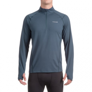 Image of Avalanche Mont Blanc Shirt - Zip Neck, Long Sleeve (For Men)