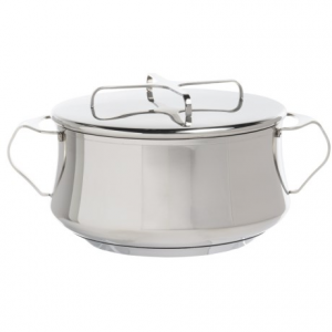 Image of Dansk Kobenstyle Casserole Dish with Lid - 2 qt., Stainless Steel