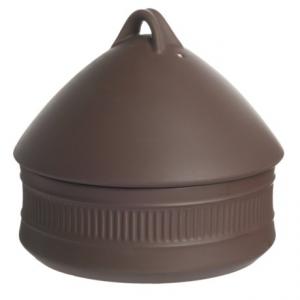Image of Dansk Flamestone Beehive Covered Casserole Dish - 2 qt., Ceramic