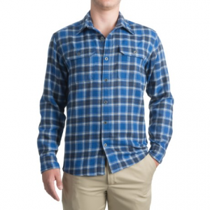 Image of Allen Fly Fishing Exterus Hearthstone Flannel Shirt - UPF 50+, Long Sleeve (For Men)