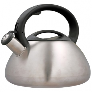 Image of Creative Home Sphere Tea Kettle - 3 qt., Stainless Steel