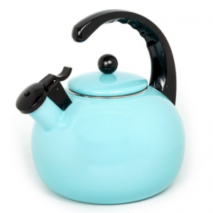 Image of Creative Home Horizon Steel Whistling Tea Kettle - 2.5 qt.