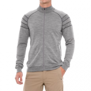 Image of Ibex Latitude Full-Zip Sweatshirt - Merino Wool (For Men)