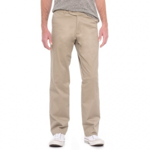 Image of Enro Stretch Cotton Pants - Flat Front (For Men)