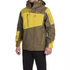 marmot boot pack membrain(r) ski jacket - waterproof (for men)- Save 52% Off - CLOSEOUTS . When your ski day involves stormy lift rides and strong winds, call on Marmotand#39;s Boot Pack ski jacket. NanoProand#174; MemBrainand#174; waterproof breathable construction and heritage styling combine to provide maximum weather protection in a clean, functional design. Available Colors: DARK RUST/SUNSET ORANGE, GREEN BEAN/DEEP FOREST, BROWN MOSS/YELLOW VAPOR. Sizes: S, M, L, XL.