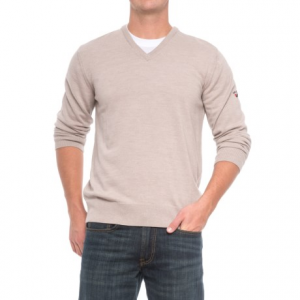 Image of Dale of Norway Harald Sweater - Merino Wool, V-Neck (For Men)