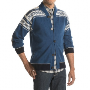 Image of Dale of Norway Cortina Bomber Jacket - New Wool, Button Up (For Men)