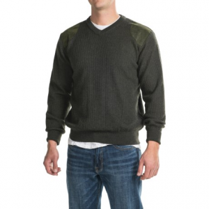 Image of Barbour Sporting V-Neck Sweater - Merino Wool (For Men)