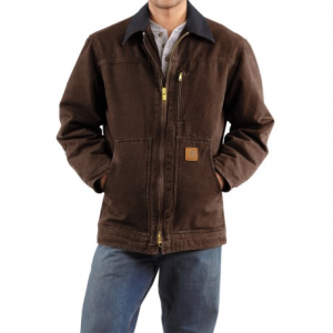 Image of Carhartt Sandstone Ridge Coat - Sherpa Lined, Factory Seconds (For Men)