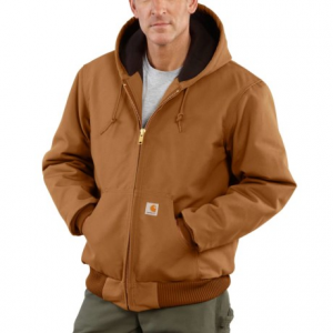 Image of Carhartt Active Duck Jacket - Flannel Lined, Factory Seconds (For Men)