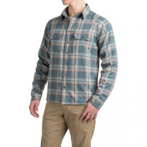 Image of Allen Fly Fishing Exterus Fireside Flannel Shirt - Lined, Long Sleeve (For Men)