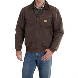 Image of Carhartt Bankston Sandstone Duck Jacket - Factory Seconds (For Men)