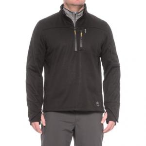 Image of Khombu Zip Neck Fleece Jacket - Waterproof (For Men)