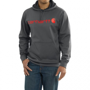 Image of Carhartt Force Extremes Signature Graphic Hooded Sweatshirt - Factory Seconds (For Big and Tall Men)