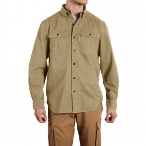 Image of Carhartt Foreman Solid Work Shirt - Long Sleeve (For Big and Tall Men)
