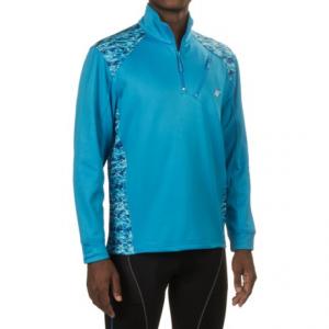 Image of Heybo Gaffer Fleece Shirt - Zip Neck, Long Sleeve (For Men and Big Men)
