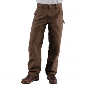 Image of Carhartt Double-Front Dungaree Jeans - Washed, Factory Seconds (For Men)