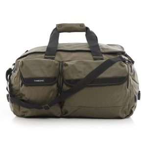 timbuk2 navigator canvas duffel bag - medium- Save 52% Off - CLOSEOUTS . Timbuk2and#39;s Navigator canvas duffel bag lets you travel comfortably and navigate tight spaces easily, thanks to tuck-away backpack straps and an efficient design thatand#39;s ideal for day trips and travel. Available Colors: ARMY/ACID, BLACK.
