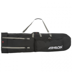 athalon backpack snowboard bag- Save 65% Off - CLOSEOUTS . The Athalon Backpack snowboard bag is constructed of heavy-gauge, water-repellent polyester and protects one snowboard up to 165cm. Available Colors: BLACK.