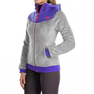 the north face oso fleece jacket (for women)- Save 28% Off - CLOSEOUTS . The North Face Oso jacket is made from super cozy-and-soft high-pile fleece with abrasion-resistant taffeta panels at the shoulders. Available Colors: LUMINOUS PINK/DRAMATC PLUM, DRAMATIC PLUM/DRAMATIC PLUM, MID GREY/STARRY PURPLE, TNF BLACK/TNF BLACK. Sizes: XS, S, M, L, XL, 2XL.
