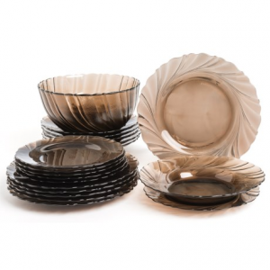 Image of Duralex Beau Rivage Dinnerware Set - 20-Piece