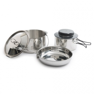 Image of Primus Stainless Steel Gourmet Deluxe Cook Set
