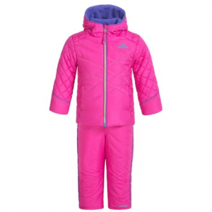 Image of Pacific Trail Contrast-Stitch Puffer Snowsuit Set (For Toddlers)