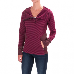 Image of Avalanche Morgan Hooded Sweater - Zip Neck (For Women)