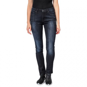 Image of dish denim Straight and Narrow Jeans - Mid Rise (For Women)