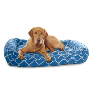 Image of Arlee Luxor Print Lounger Dog Bed - 40x32?