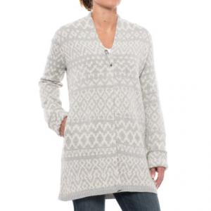 Image of Artisan NY Jacquard Cardigan Sweater (For Women)