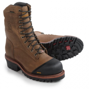Image of Chippewa Apache Leather Work Boots - Waterproof, 9? (For Men)