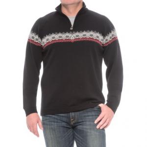 Image of Dale of Norway Calgary Zip Neck Sweater - Merino Wool (For Men)