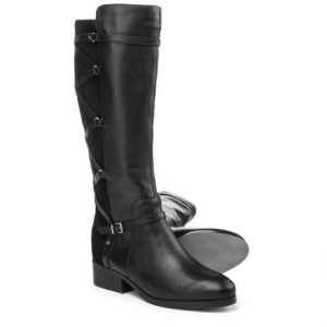 Image of Adrienne Vittadini Mickey Tall Boots - Leather (For Women)