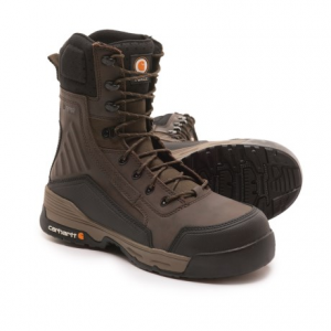 Image of Carhartt Force Work Boots - Waterproof, Composite Safety Toe, 8? (For Men)