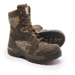 Image of Carhartt 8? Rugged Flex Work Boots - Composite Safety Toe, Waterproof, Insulated (For Men)