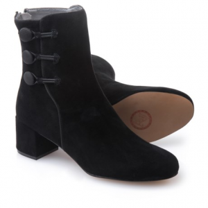 Image of Adrienne Vittadini Luretta Suede Booties (For Women)