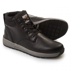 Image of Carhartt Lightweight Wedge Work Boots - Leather, 4? (For Men)