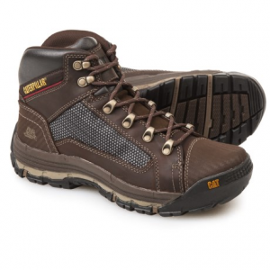 Image of Caterpillar Convex Mid Work Boots - Leather (For Men)