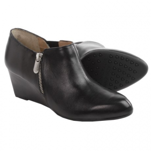 Image of Adrienne Vittadini Midge Wedge Boots - Leather (For Women)