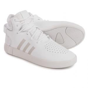 Image of adidas Tubular Invader Shoes - Leather (For Men)
