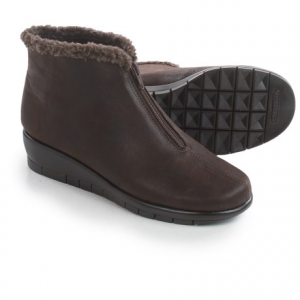 Image of Aerosoles Nonchalant Ankle Boots - Vegan Leather (For Women)